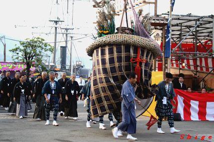 東古川町 傘鉾