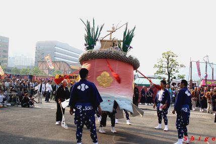 小川町 傘鉾