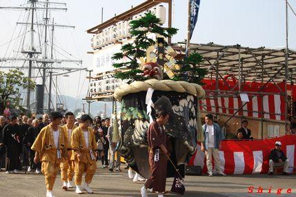 樺島町 傘鉾