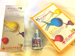 カタツムリの化粧品2