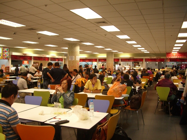 タイの空港のクーポン食堂 2