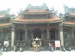 台湾半日観光で訪問した寺院