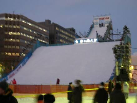 札幌雪祭り3 白い恋人ジャンプ台
