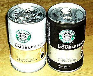 スターバック缶コーヒー