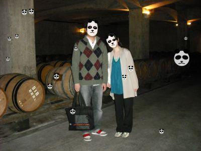 サドヤ地下ワインセラー