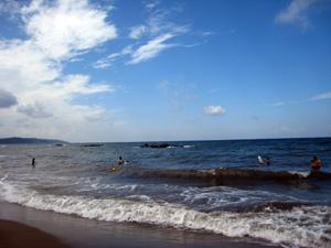 日本海海水浴