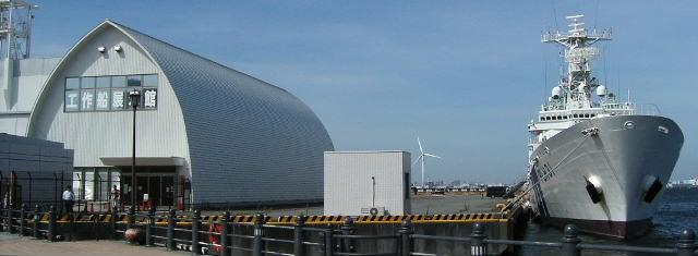 海上保安資料館横浜館の工作船展示室