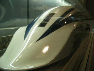 リニア新幹線~本物?おもちゃ?
