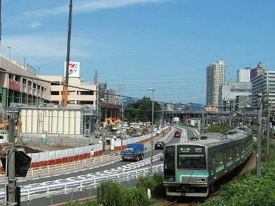 建設ラッシュの続く橋本駅周辺