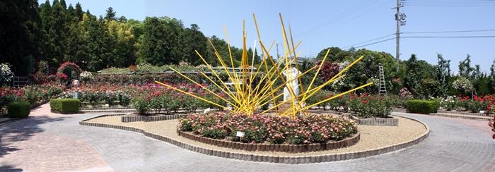 霊山寺ばら庭園