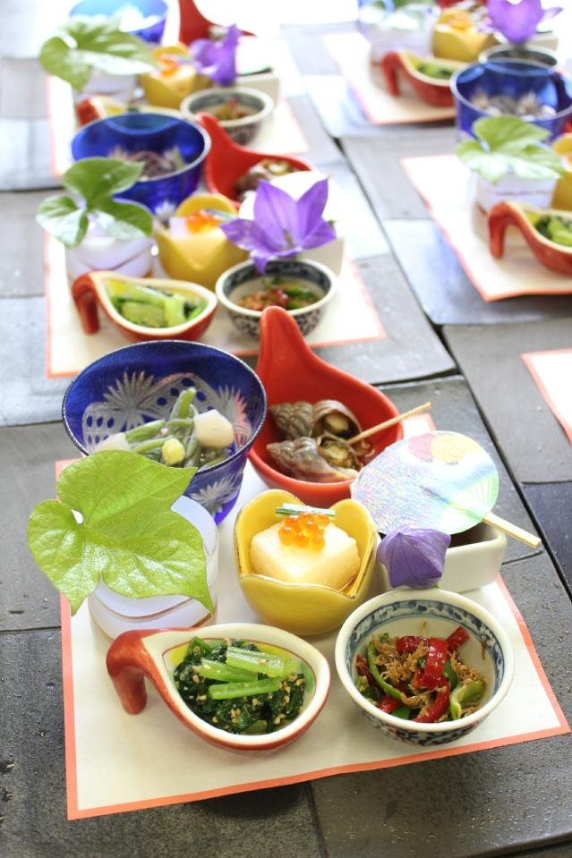 日本料理に夏のあしらいものを・・・。 | 「料理長の日記」 三重県 ...