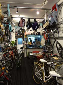 velostyle Ticket 店内