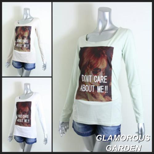 DON'T CARE プリントTシャツ.jpg