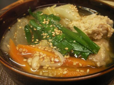 鶏団子醤油ちゃんこ鍋