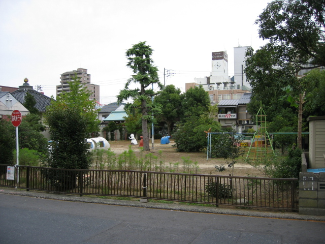 弥生公園改修前
