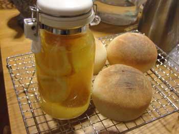 みかん酵母とパン