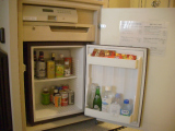 ホテルニューオータニ大阪:冷蔵庫内