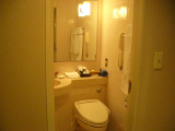 ホテルニューオータニ大阪:バスルーム1
