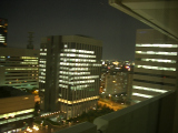 ホテルニューオータニ大阪:眺望・夜1
