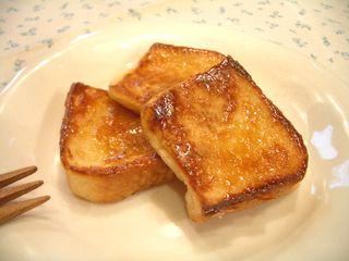 卵なし☆フレンチトースト4