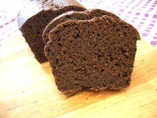 万能チョコスポンジで作ったパウンドケーキ2