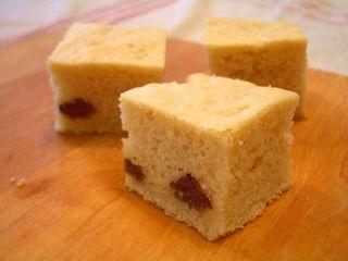 豆腐のアーモンドケーキ