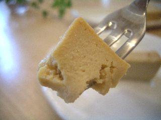 豆腐入りチーズケーキ2