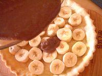 バナナチョコクリームパイ2