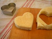 メープルシロップのふんわりホットケーキ4