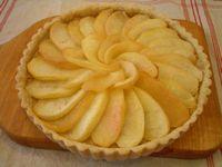 おからアーモンドクリームパイ4りんご