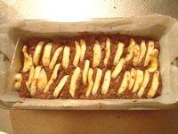 バナナとココアの豆腐クリームケーキ1