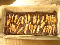 バナナとココアの豆腐クリームケーキ2