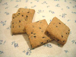 ごまクッキー1