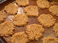 全粒粉100%のココナッツクッキー1