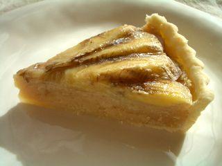 バナナ乗せ☆おからアーモンドクリームパイ10