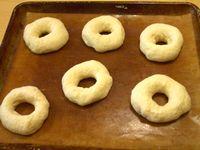 ドライイーストで発酵させる焼きドーナツ1