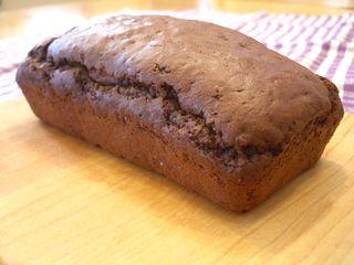 長いも入りココアパウンドケーキ1