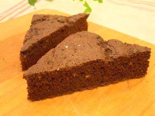 型不要☆ココア味の簡単お豆腐ケーキ3