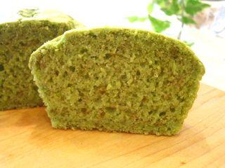 米粉の抹茶パウンドケーキ2
