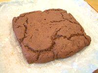 豆腐のココアケーキ(焼きあがった後)