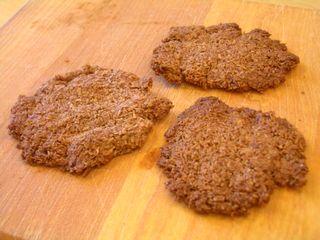 ココア味のココナッツたっぷりクッキー2