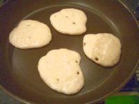ドライイーストで作るパンケーキ1