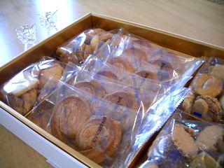 あまりに嬉しくて記念写真♪神戸フロインドリーブのお菓子♪