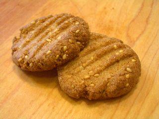 全粒粉100%のクッキー3