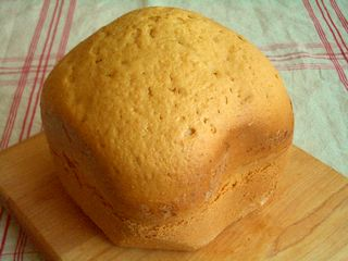 ホームベーカリーで作るフィナンシェ味のパウンドケーキ1