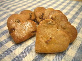 卵白のスパイスクッキー1