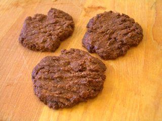 ココア味のココナッツクッキー3