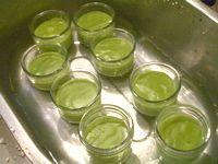 豆乳で作る抹茶ババロア3