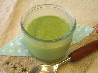豆乳で作る抹茶ババロア4