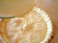 豆乳で作るレモンクリームパイ2